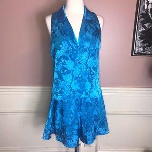 Vintage Victoria's Secret Satin Short Pajama Set